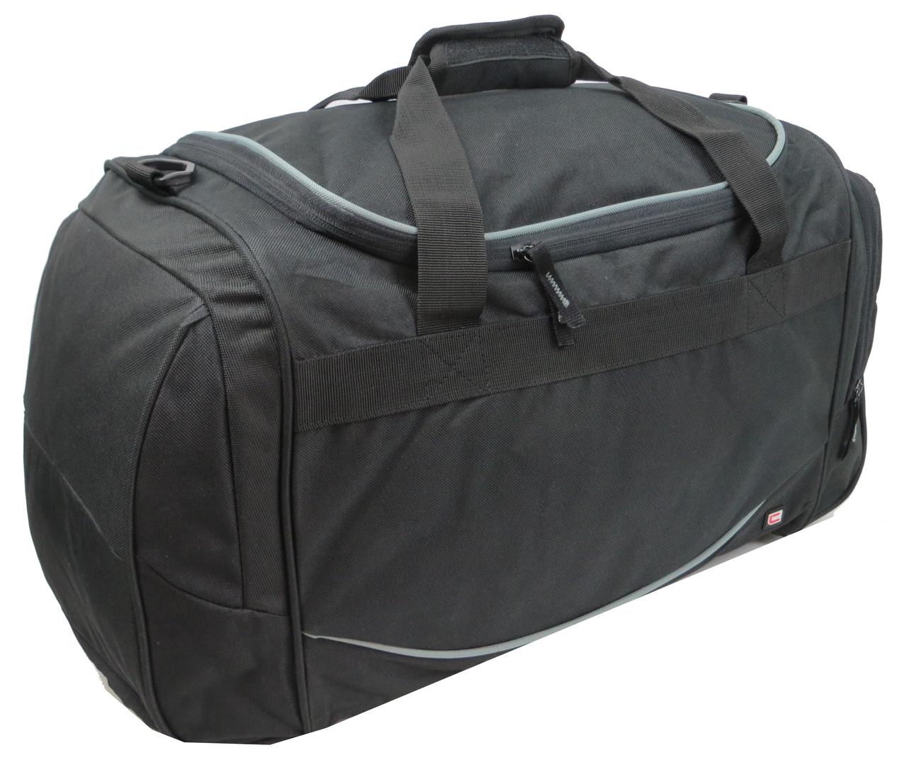 Спортивно-дорожная сумка 42L Corvet SB2001-81 черная