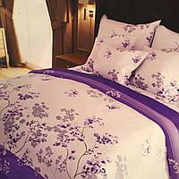 """""""сакура"""" комплект постельного белья двуспальный 180/210, нав-ки 70/70, ткань сатин, 100% состоит из хлопка"""