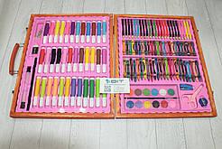 Набор для рисования Picaso 150 предметов в деревянном чемоданчике