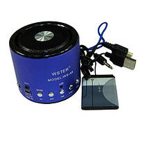 Портативная колонка WSTER WS-A8 3,5 мм, фото 3