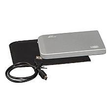 """Зовнішній кишеню Frime SATA HDD/SSD 2.5"""", USB 2.0, Metal Silver (FHE61.25U20)"""