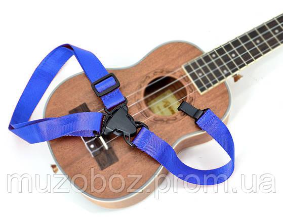 Ремень для укулеле Kaysen RS-U01 BL, фото 2