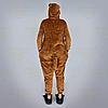 Пижама кигуруми Обезьяна коричневая S (150-160см), фото 3