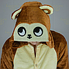 Пижама кигуруми Обезьяна коричневая S (150-160см), фото 5