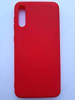 Чехол силиконовый SMTT для Samsung A30s/A50 красный