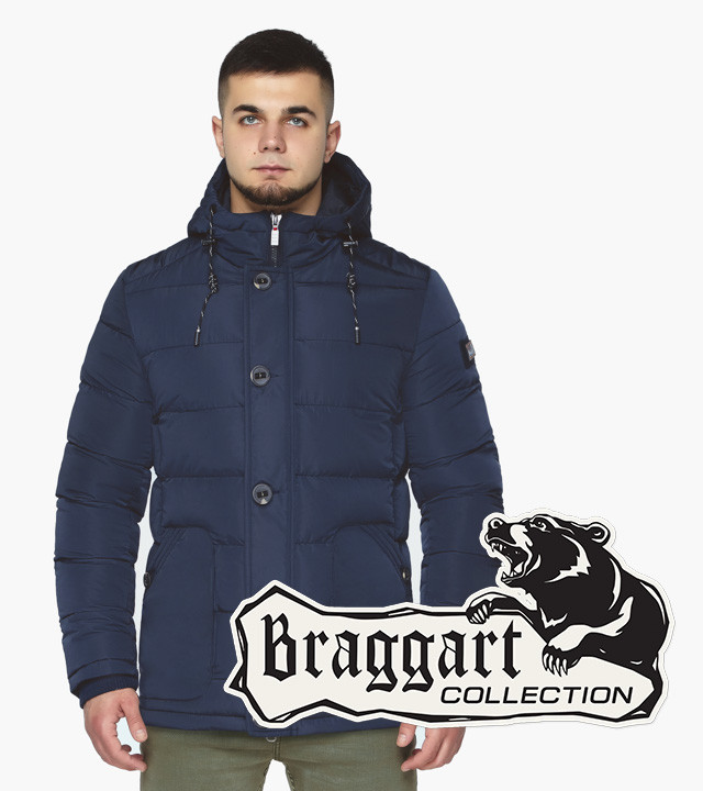 Braggart Dress Code 44516 | Мужская зимняя куртка синяя