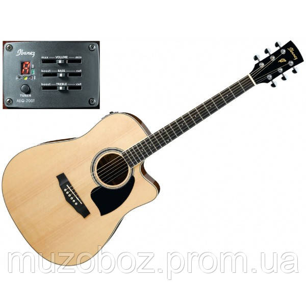 Электро-акустическая гитара Ibanez PF15ECE NT