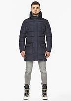 Braggart Dress Code 32045   Мужская зимняя куртка темно-синяя, фото 3
