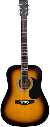 Акустическая гитара Maxtone WGC4011 SB, фото 2