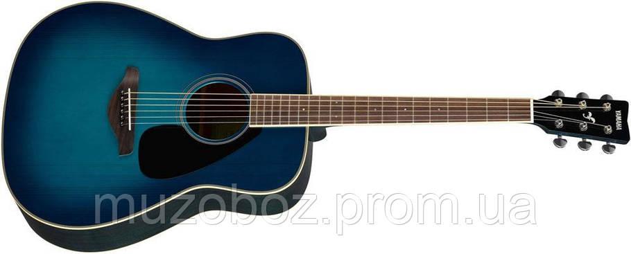 Акустическая гитара Yamaha FG820 (SB), фото 2