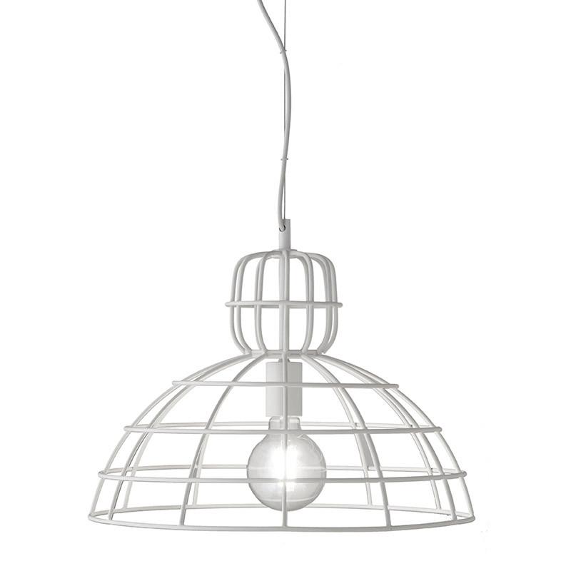 Подвесной светильник Ondaluce Sally 4 в индустриальном  стиле (60 Вт, Italy)