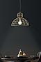 Подвесной светильник Ondaluce Sally 4 в индустриальном  стиле (60 Вт, Italy), фото 3