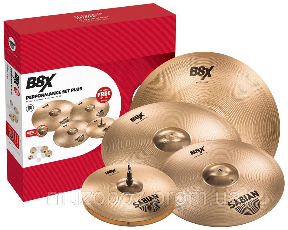 Набор тарелок для барабанов Sabian 45003Xg B8X Promotional Set