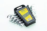 Набор ключей СИЛА рожковых Стандарт 6x7 8x9 10x11 12x13 14x15 16x17 мм 6 шт 049518, КОД: 1695738