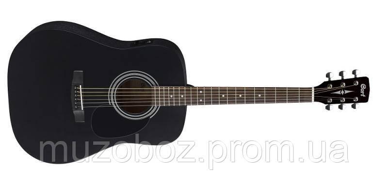 Электро-акустическая гитара Cort AD 810E BKS