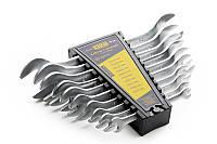 Набор ключей СИЛА рожковых 6x7 мм 8x10 мм 10x12 мм 12x13 мм 14x17 мм 19x22 мм 6 шт 0310, КОД: 1695667