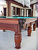Бильярдный стол для пула Виват 9 футов Ардезия 2.6 м х 1.3 м из натурального дерева, фото 3