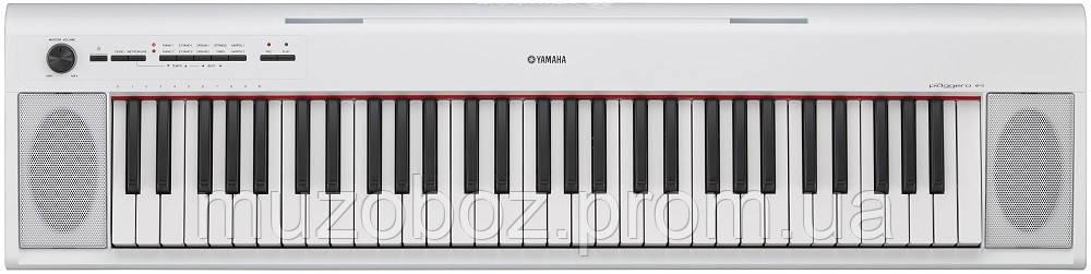Цифровое пианино Yamaha NP12WH (+блок питания)