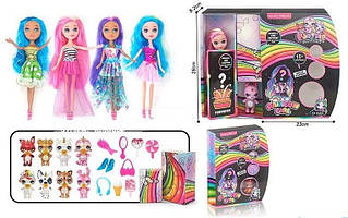 Лялька Rainbow girl аналог Poopsie