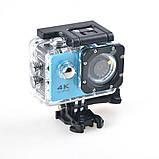 Экшн камера 4K H9/H9R wi-fi Ultra HD 1080P, фото 2
