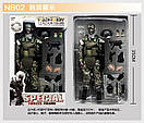 Игрушка солдат/swat 12 action figure, фото 3