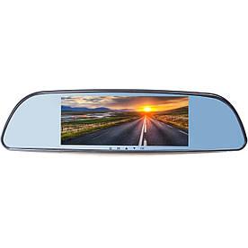 """Зеркало видеорегистратор Lesko 7"""" Car H803 H560 камера заднего вида"""