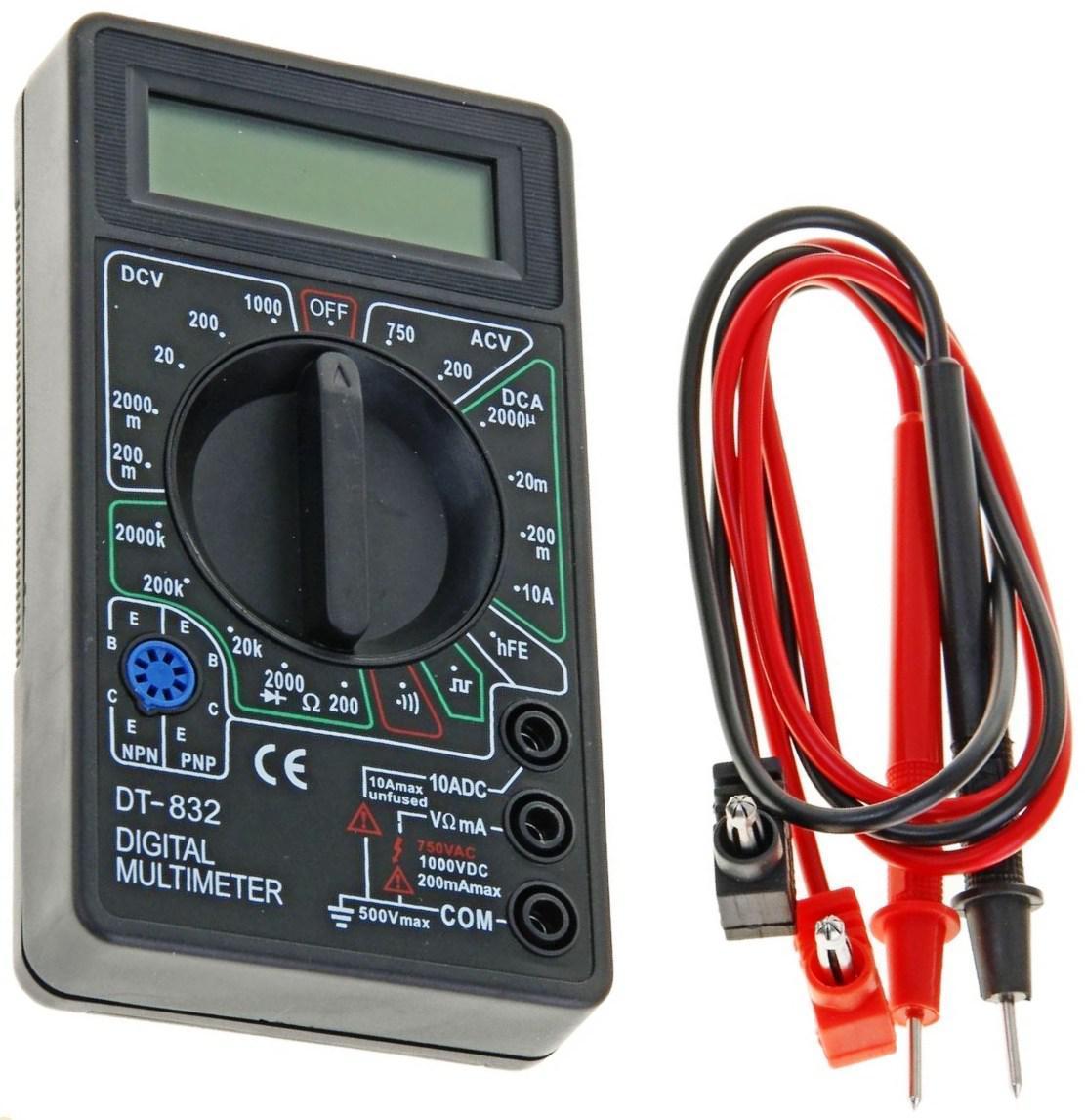 Мультиметр DT 832