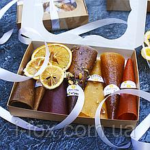 Набор фруктово-ягодной пастилы 7 вкусов + фрипсы | Натуральные сладости