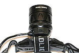 Налобный фонарик Police С861-T6 + COB, фото 2
