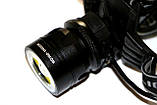 Налобный фонарик Police С861-T6 + COB, фото 7