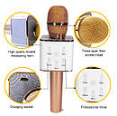 Беспроводной караоке микрофон Q7, фото 4