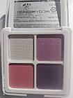 Тени-глитттеры  для век LA ROSA Professional Makeup 3D перламутровые 4 цветa 104-LE № 1 Розово-сиреневые, фото 4