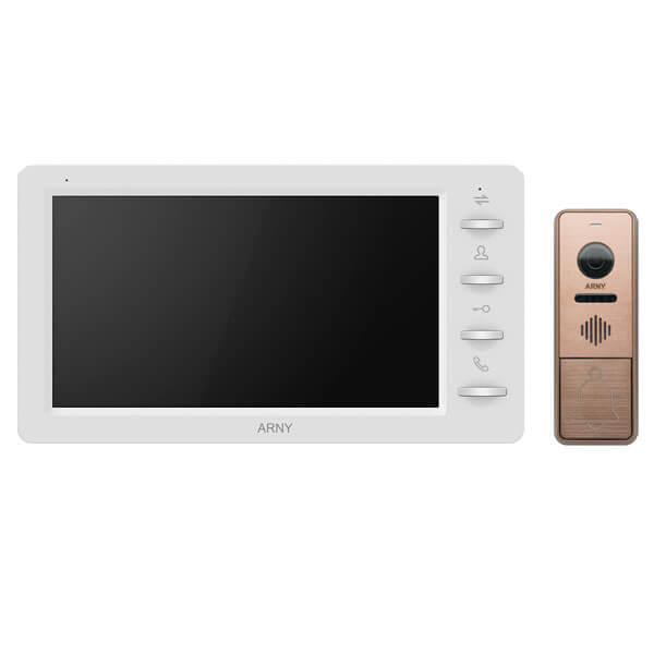 Комплект відеодомофона ARNY AVD-709 1MPX з видеопанелью AVP-NG430 1MPX