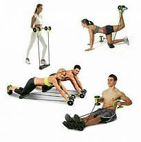 Тренажер Revoflex Xtreme для всего тела! 40 упражнений! Роликовый тренажер, фото 3