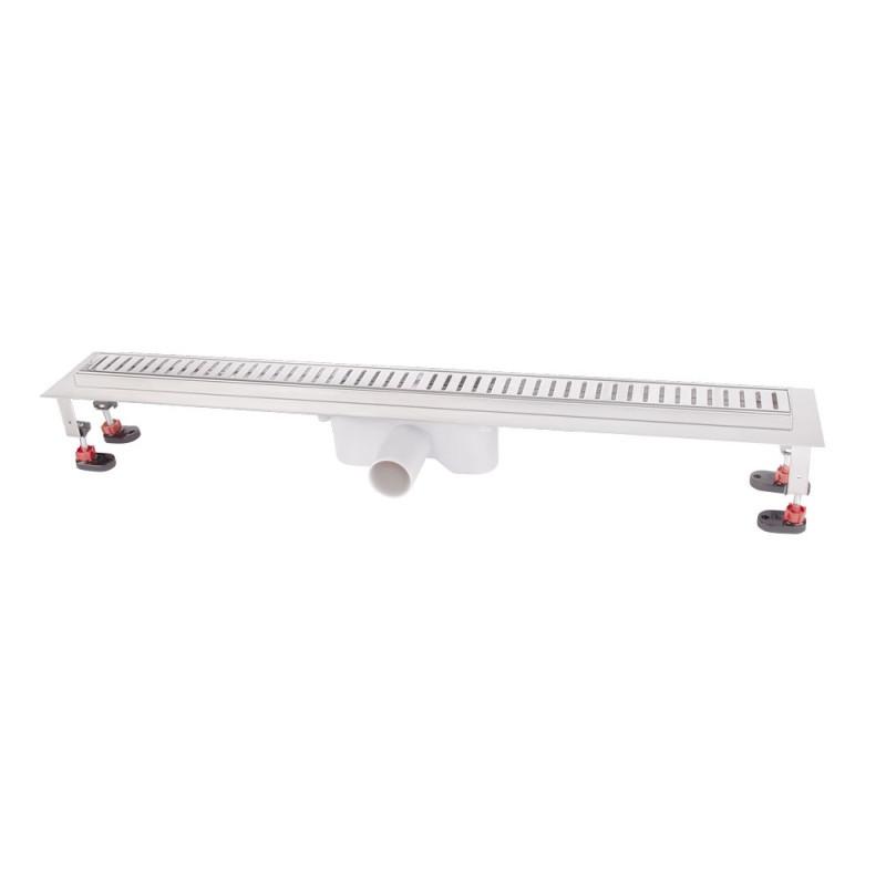 Трап линейный Q-tap с нержавеющей решеткой 800х60 CRM