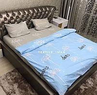 Полуторный Комплект постельного белья из Бязи (Хлопок) GOLD LUX Постільна білизна
