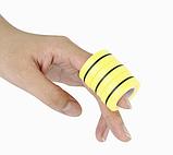 Магнитные кольца антистресс спиннер/fingears magnetic rings/фингирс/fidget spinner /фиджет кольца/ Желтый, фото 3