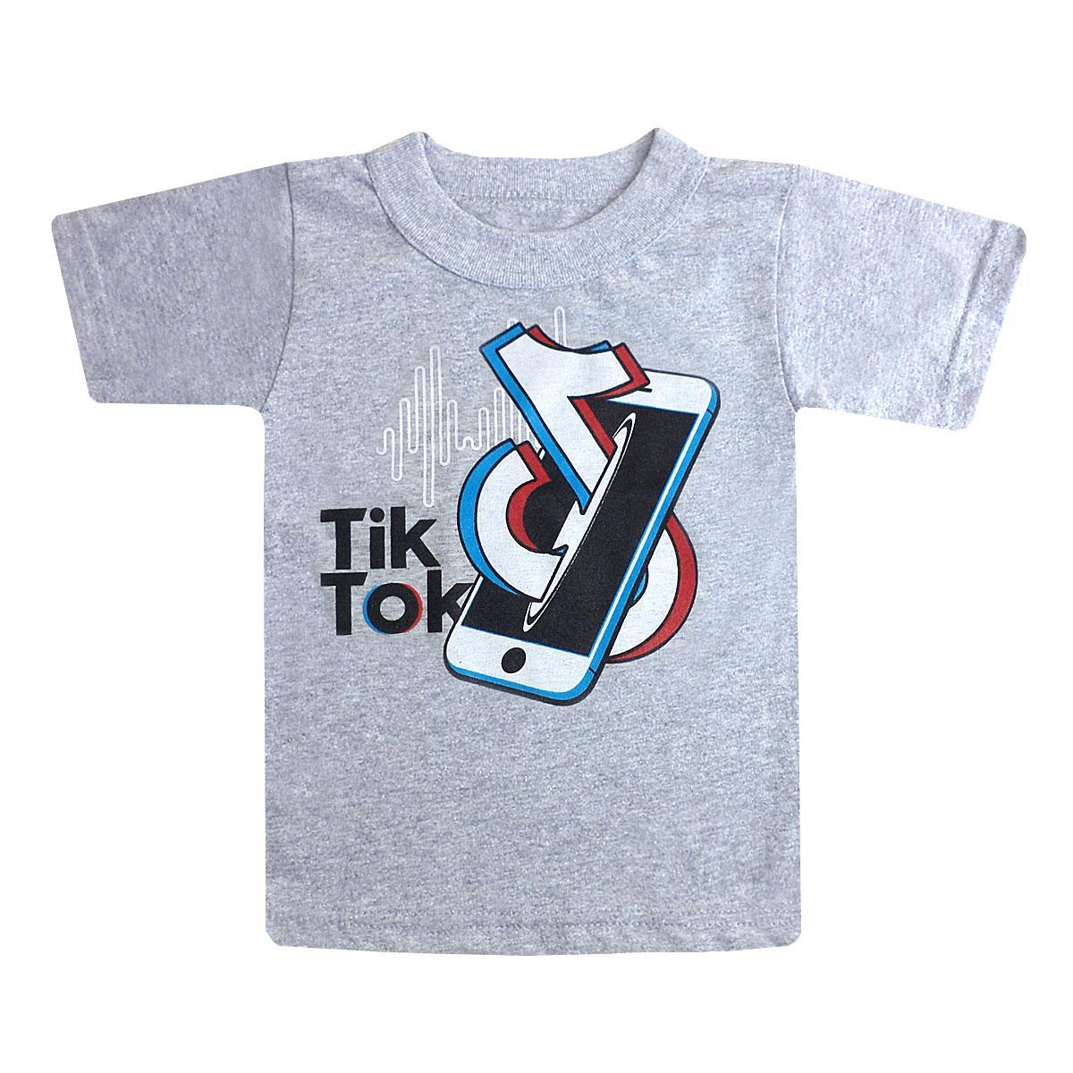 Дитяча футболка з принтом Tik Tok для хлопчика кулір