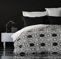 Полуторный Комплект постельного белья IMAN из Ранфорса, Постільна білизна