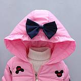Демисезонная куртка для девочки размер 98., фото 2