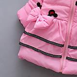 Демисезонная куртка для девочки размер 98., фото 4