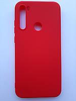Чехол силиконовый SMTT для Xiaomi Redmi Note 8T красный, фото 1