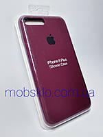 Чехол для iPhone 7+, iPhone 8+ Silicone Case (С закрытым низом) (54 VIOLET)