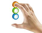 Магнитные кольца антистресс Спиннер фингирс spinner Магнитный спиннер, фото 4