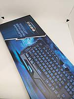Клавиатура с подсветкой M-200 для компьютера. Клавиатура для ПК. Игровая клавиатура. Клавиатура проводная usb., фото 8