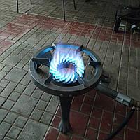 Чугунная горелка 7.0 kw , газовая горелка gb 23, таганок 7кв , чугунный таганок