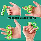 Магнітні кільця антистрес Спиннер фингирс spinner Магнітний спиннер, фото 5