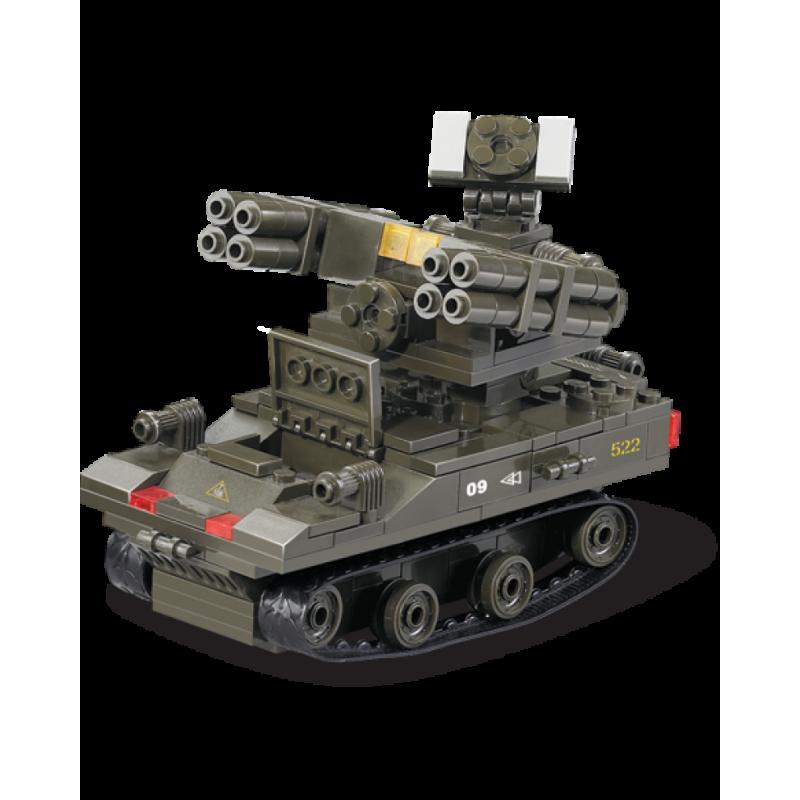Конструктор SLUBAN серии Армия Cухопутные войска M38-B0283 Зенитно-ракетный комплекс
