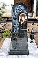 Памятник элитный из гранита Скорбящая №902