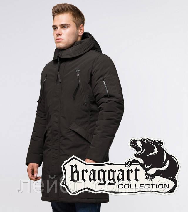 Braggart Arctic 23675 | Зимняя парка с капюшоном коричневая